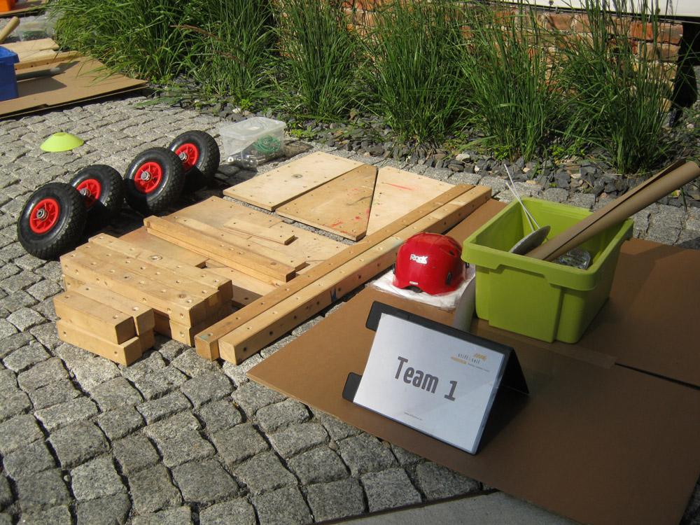 abenteuerwerk Seifenkistenbau, Teamtag, Teamtraining, Teambuildi